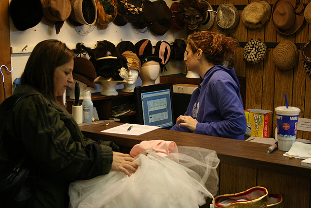 USP Costume Shop Check Out