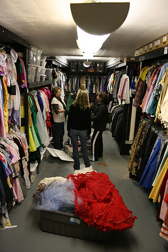 USP Costume Shop Downstairs