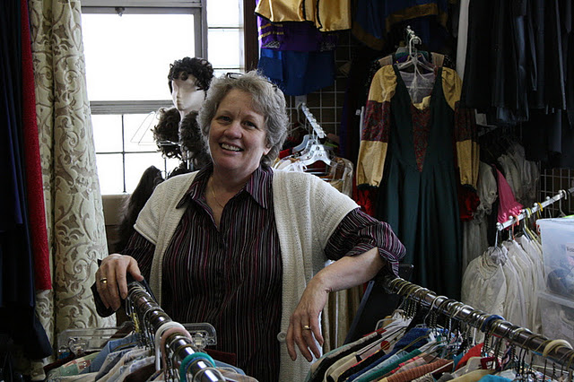 Costume Shop Founder/Manager (and USP Walk of Fame Member) Dottie McGee