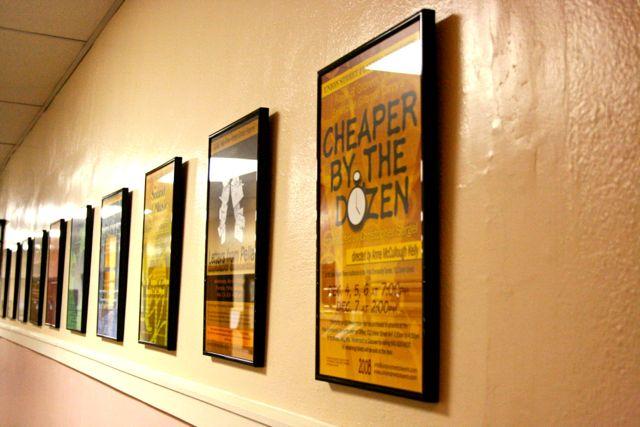 USP Show Posters now grace the Pella Community Center hallway.