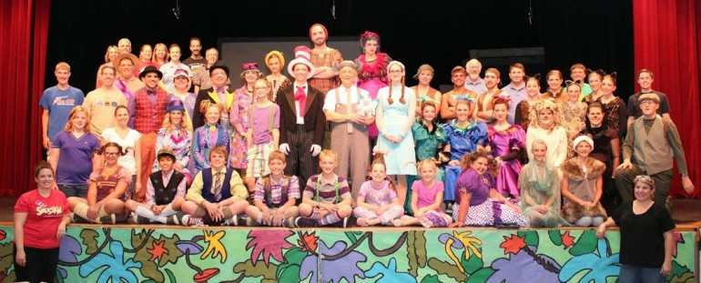 2014 08 USP Seussical Cast Photo