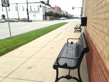 memorial bench mcgee 1