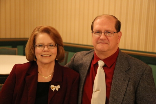 USP Walk of Fame Couple Bev and Don Graves