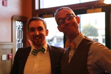 The Bow Tie boys, Karl Deakyne and Tom Vander Well
