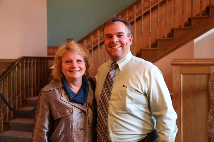 Jim and Jennifer Palmer