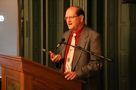 2014 USP Walk of Fame Inductee, Don Graves, accepts his award.
