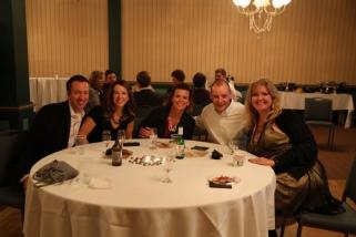 (L-R) Chad Vande Lune, Shay Vande Lune, Jen Parker, Justin Parker, and USP Walk of Fame member Lisa Witzenburg
