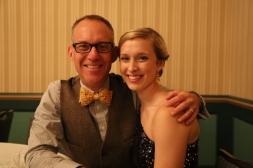Tom Vander Well and Megan Atrkins