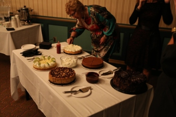 Wendy's cheesecake is an annual hit at the after show reception!