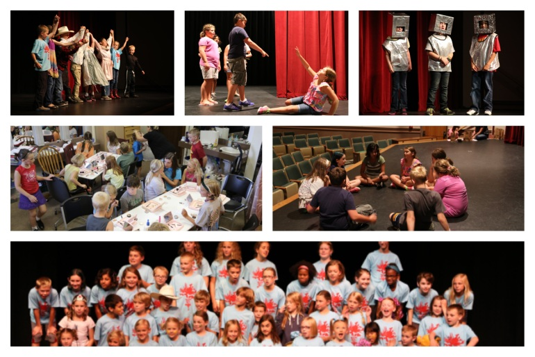 USP Drama Camp Collage