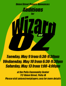 Wiz audition posterFB