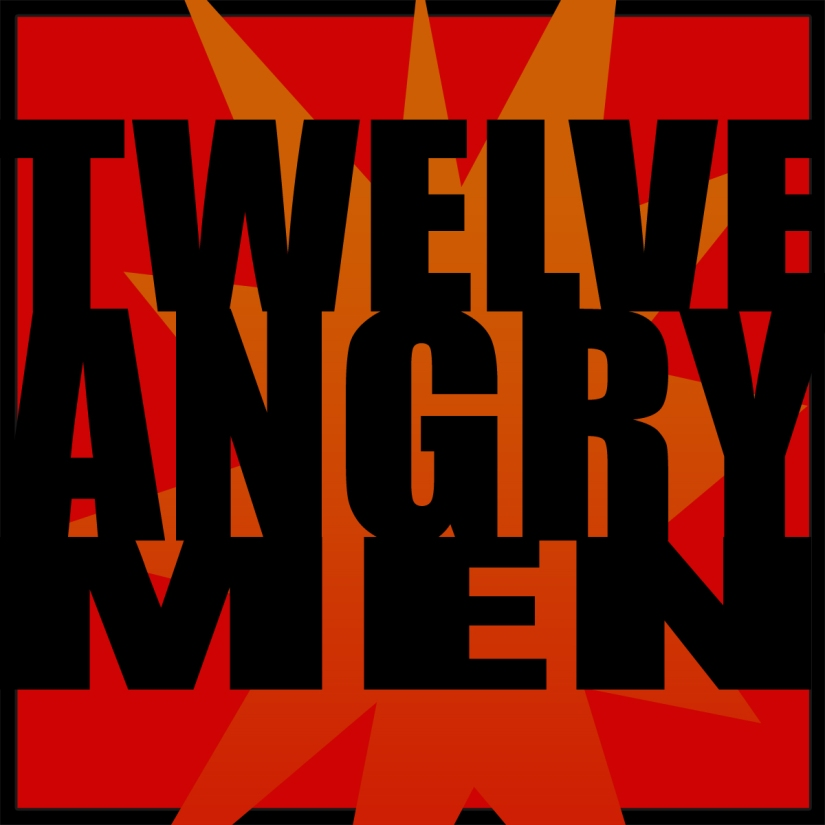 twelve angry men graphic