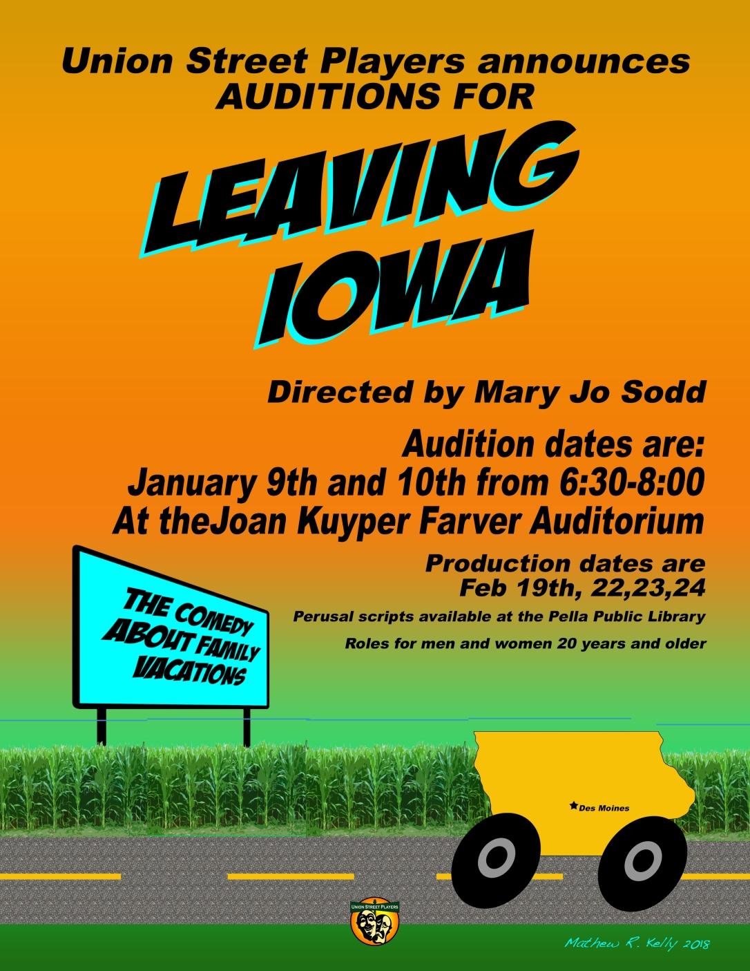 Leaving Iowa AUD