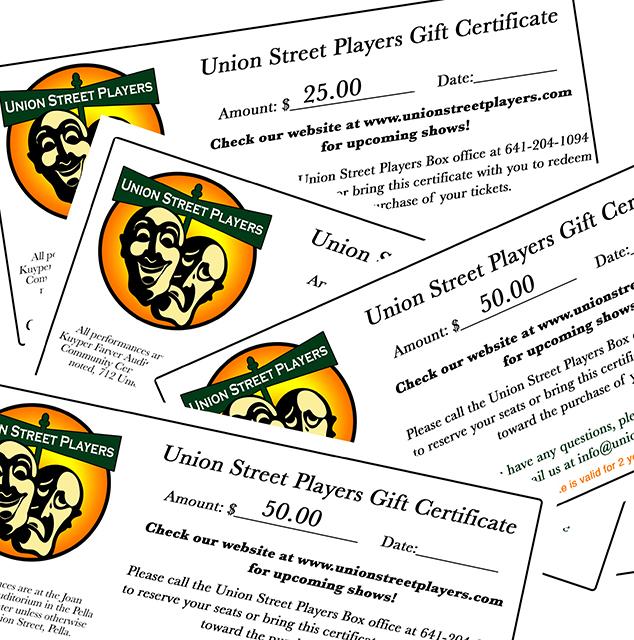 USP Gift Certmontage